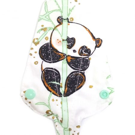 PAMUT-Tanga tisztasági betét | 18 cm | 1 rétegű | mintás