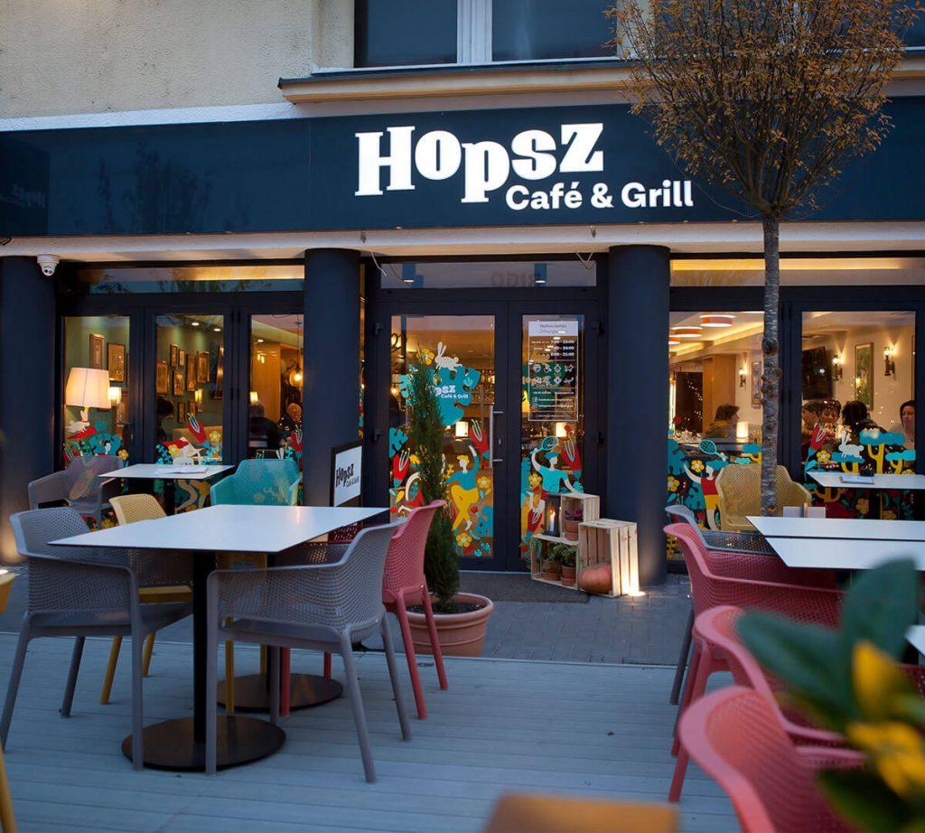 HopszSopron weboldala